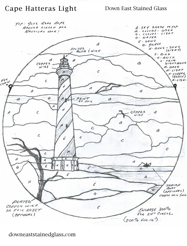 hatteras lighthouse pattern