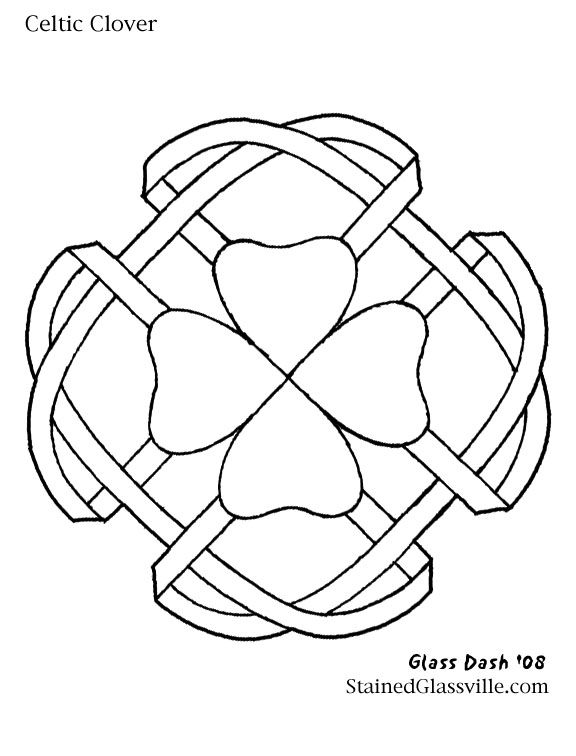 Hexagonal Mandala Originals - Celtic Knot - Cross Stitch Patterns