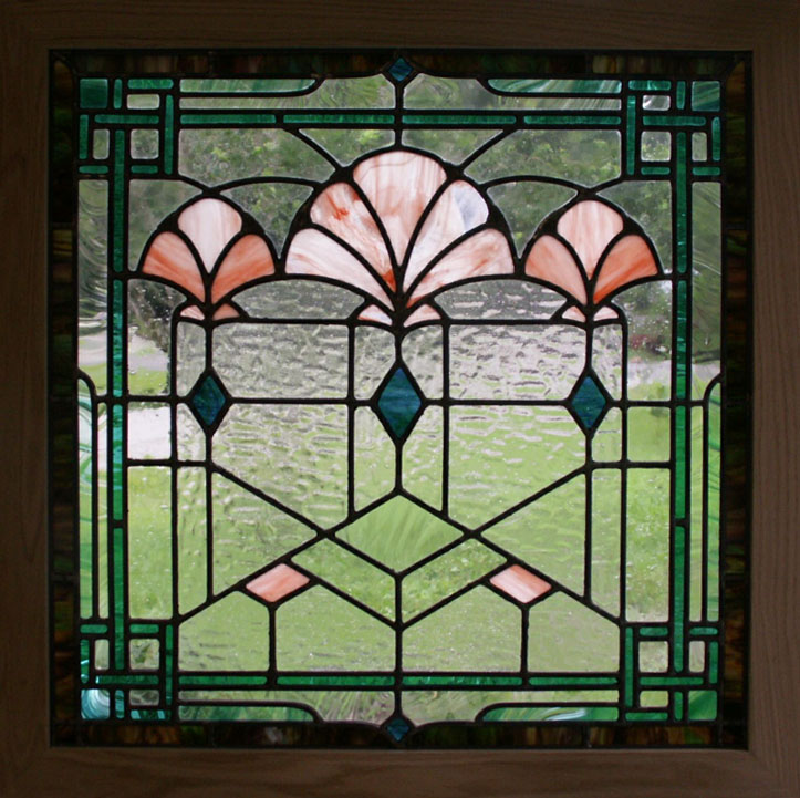 Deco glass on pinterest stained glass art deco and for Window panel design