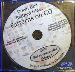 stained glass patterns cd