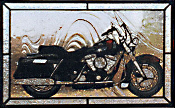Pattern, CKE - Motorcycle - Glass Crafters Stained Glass Supplies
