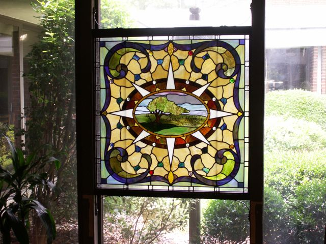 snug harbor stained glass