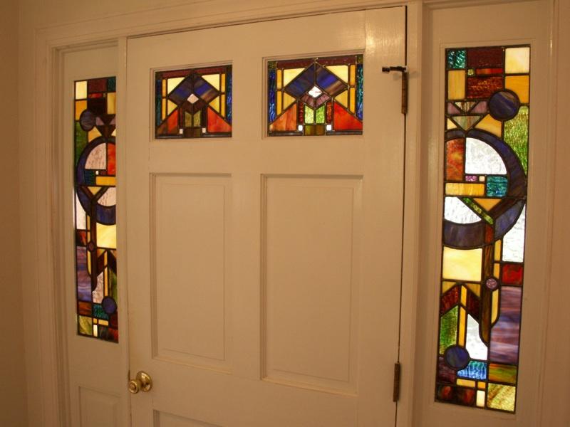 Prairie Stained Gl Door